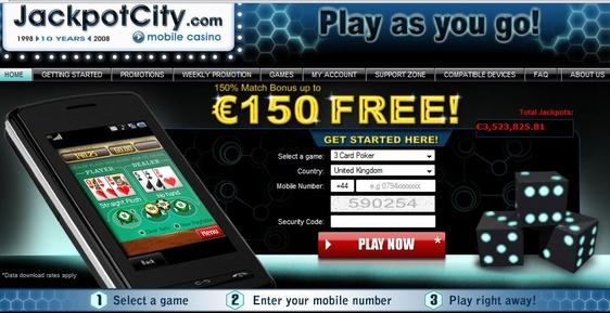 gokken op mobiele telefoon