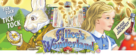 Alice in Wonderland gokkast