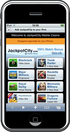 Casinospellen op je mobiel