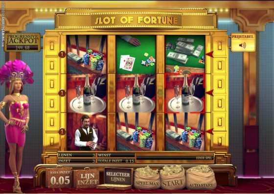 Video gokkast Slot of Fortune