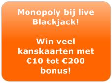 Monopoly actie bij Oranje Casino