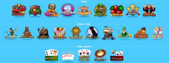 goed assortiment mobiele casino spellen