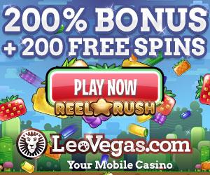 welkomstbonus bij leo vegas casino