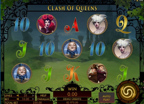 clash of queens gokkast