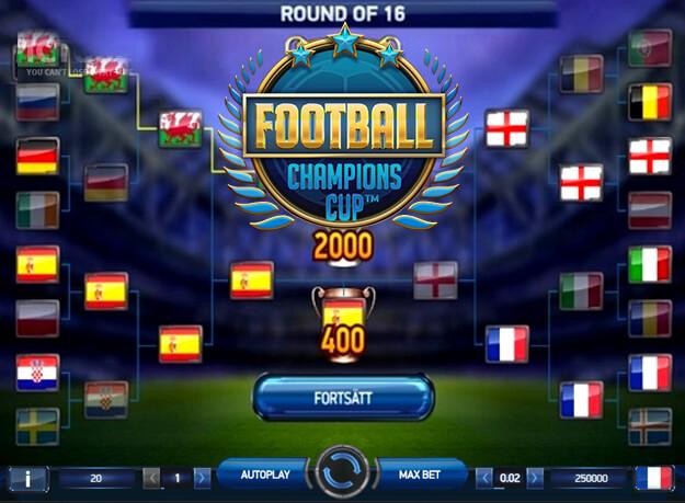 voetbal gokkast netent
