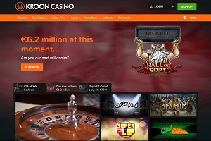 kroon casino website